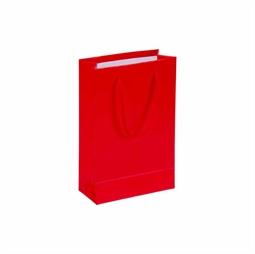 Resim Kırmızı Karton Çanta 11x16cm 25'li