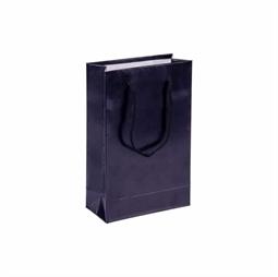 Resim Siyah Karton Çanta 11x16cm 25'li